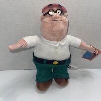 Family Guy Peter Griffin Plush Nanco 2006 With Tags 20th Century Fox Stuffed Toy