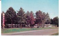 "Greenup IL ""The Five Star Motel"" Postcard Illinois * FREE US SHIPPING"