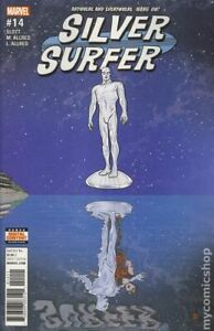 Silver Surfer #14A Allred VF 2017 Stock Image