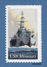 Scott #5392  2019 USS Missouri - (BB-63) US Navy Battleship - 2019 MNH Single