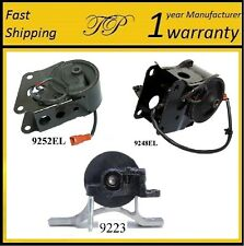 3 PCS FRONT & REAR MOTOR MOUNT FOR 2004-2006 NISSAN ALTIMA 3.5L w/Sensors - AUTO