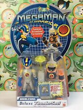 Megaman Figure Thundersoul Thunder Deluxe Doublesoul Transforms NT Warrior CP 2