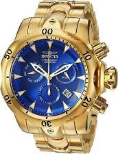 29643 Invicta Men's Venom Chronograph Quartz 53.7mm Case SS Gold Bracelet Watch