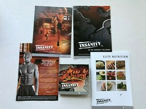 Insanity 60 Day Total Body Workout Program 10 DVD Set Beachbody