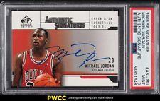 2003 SP Authentic Signature Michael Jordan AUTO #AS-MJ PSA 9 MINT