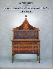 Sotheby's - Important American Furniture & Folk Art
