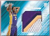 ANTHONY BROWN RC 2015-16 ABSOLUTE TOOLS OF THE TRADE JUMBO PATCH #13/25 LAKERS