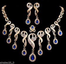 Sapphire Stone Fashion Jewellery Sets