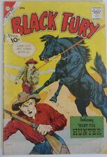 Black Fury Western Comic Book No 35 Collectors Copy