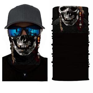 Balaclava Cycling Neck Tube Scarf Snood Biker Face Mask Bandana Gaiter Pirate