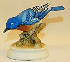 "Lefton Bluebird Bird 4 1/4"" Tall Figurine Hand Painted Porcelain China #Kw 1184"