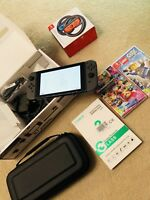 Nintendo Switch 32GB Console with Grey Joy-Controller - used but minimal use!