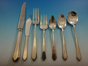 William and Mary by Lunt Sterling Silver Junior Set 3pc