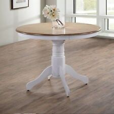 solid wood round kitchen dining tables for sale ebay rh ebay co uk