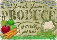 Tin Farm Decorative Plaques & Signs