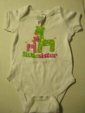 Little Sister One-Piece By Rabbit Skin, Size 6 Months, Brand New
