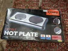 DELTA  Stainless Steel Double Twin  Hot Plate CAST PLATES  VARIABLE TEMPATURE
