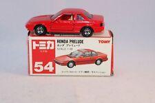 Tomica 1:59 54 Honda Prelude Mint in Box.