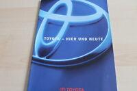 122330) Toyota - Modellprogramm - Prospekt 09/1995