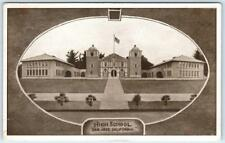 SAN JOSE, California  CA    HIGH SCHOOL  Pretty Border   1909    Postcard