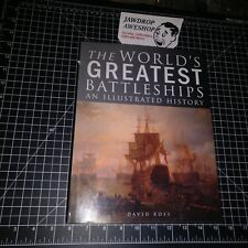 THE WORLDS GREATEST BATTLESHIPS AN ILLUSTRATED HISTORY DAVID ROSS HARDCOVER BOOK
