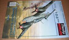 Paper Card Model - Messerschmitt Bf-110 C-1 - Maly Modelarz 1-2-3/2008