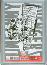 Uncanny Avengers #1  (Brooks Sketch)   CGC 9.8  WP