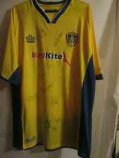 Leeds United 2007-2008 Squad Signed Away Football Shirt with COA  /3368