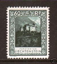 Liechtenstein Mi 103B, Sc 103a MLH. 1930 60r Castle, perf 11½