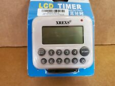 USA Timer Digital Large LCD Kitchen Cooking Count Down Up Clock 99 Minute Alarm