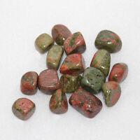 100 G Rhodonite Tumbled Stones Crystal Healing Chakra Reiki Gemstone Collectible