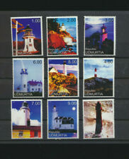 Lighthouses 9 Different Mint Never Hinged Cinderella Issues