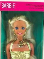 1991 Sun Sensation Barbie Doll Variation New in Box Mattel NRFB Dazzling Jewelry