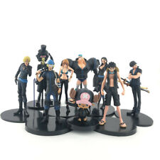 9PCS One Piece Full set Theater Version Golden City Luffy Black Limited Edition