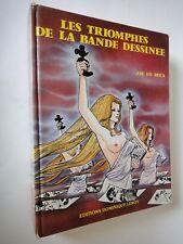 BD ADULTES  - LES TRIOMPHES DE LA BANDE DESSINEE - Avril 1985   BD érotique