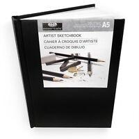 Royal and Langnickel - Essentials Hardback A5 Artist Sketchbook – 80 Sheets