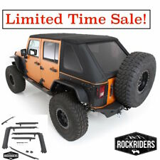2007-2017 Jeep Wrangler Unlimited All In One ProTek Soft Top & Hardware Kit