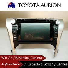 """8"""" Car DVD GPS Head Unit Stereo Radio Nav For Toyota AURION 2012 - 2015"""