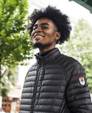 New Mens Superdry Core Down Jacket Black