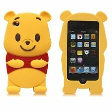 For IPod Touch 4 4th Generation 3D Winnie The Pooh Soft Silicone Case Cover