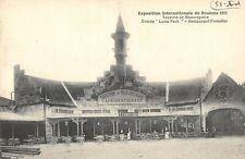 CPA 59 EXPOSITION DE ROUBAIX 1909 TAVERNE DE BEAUREPAIRE RESTAURANT FORESTIER