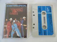 KOOL & THE GANG SOMETHING SPECIAL CASSETTE TAPE 1981 BLUE PAPER LABEL DeLITE UK