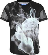 adidas Originals Women's Rita Ora Terry Smoke Print T-Shirt Tee S23562 SIZE 4