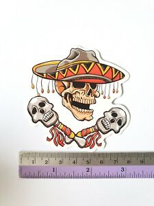 SANTA CRUZ Skeleton Graffiti Sticker Bomb Cartoons Scary Skateboard Stickers