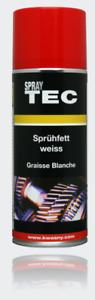 Sprühfett weiß Dauerschmierung Verschleiß Korrosionsschutz SprayTEC 400ml