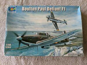 Lot 694 - Boulton Paul Defiant F-1 - 1/48 Scale - Trumpeter
