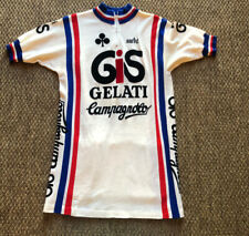 Vintage Team GIS GELATI Cycling Campagnolo Moa Sport Cycling Bike Jersey