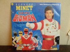 "7"" Bernard Minet  ‎– Dis-moi Bioman - EX/NM - AB Kid ‎– 871 096-7 - FRANCE"
