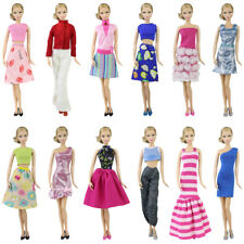 1pc Doll Clothes for 11.5 inch Girl Dolls Mix Shirt & Pants Party Dress Outfit