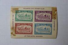 Atlantic City Stamp Club Nj American Philatelic Society Event Souvenir Ad